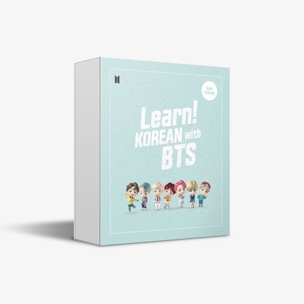 Learn! KOREAN with BTS Book ONLY Package